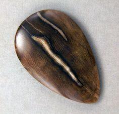 Stinking Water Oak Petrified Wood Cabochon  by WildRavenStudio, $22.00