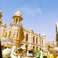 The hustle bustle of Multan.