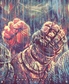"Daniel Nash: Poster Posse Pays Tribute To Warner Bros. ""Batman V Superman: Dawn Of Justice"" – Phase 1"