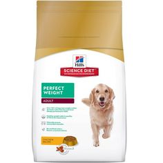 Hill's Science Diet Adult Perfect Weight dry dog food provides breakthrough nutrition formulated to help your dog achieve a healthy weight and improve quality of life. SKU: Ingredients of Hill's Science Diet Perfect Weight Adult Dog Food. Chicken Recipes Dry, Dog Food Recipes, Diet Recipes, Food Tips, Hills Science Diet, Food Science, Best Dog Food, Dry Dog Food, Cat Food