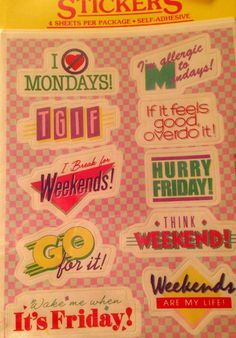 1984 Vintage Stickers by MetzlisLight on Etsy, $4.95