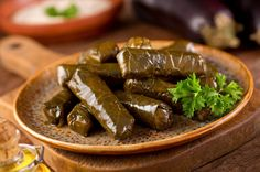 Keto Greek dolmades with Herzegovinian twist. Ground meat, collard greens and a lot of good old Greek spices will lift this dish to another level. Ukrainian Recipes, Turkish Recipes, Ethnic Recipes, Greek Dolmades, Grape Leaves Recipe, Greek Spices, Stuffed Grape Leaves, Vitamin A, Greek Dishes