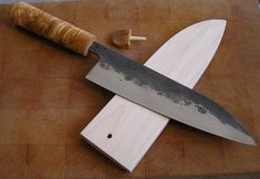Mikko Inkeroinen chefs knife. Awesome knife maker from Mikkeli, Finland.