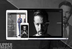 """Model Webseite für Alex Risch Erstellung einer repräsentativen Model Webseite für Alex Risch  Alex Risch beauftrage UPPER WEBSITE nach der der Erstellung seiner Webseite """"Dressed by Alex Risch"""" auch seine Model Webseite zu erstellen.  Fokus  Der Fokus bei der Erstellung seiner neuen Homepage lag darauf, eine Webseite zu erstellen, die seine Bilder und sein Portfolio/Lookbook ansprechend zu repräsentieren und es Agenturen und Auftraggebern ermöglicht, Ihn zu buchen. Wichtig bei der Umsetzung… Web Design, Male Model, Models, Portfolio, Seo, Polaroid Film, Website, Weaving, Role Models"""