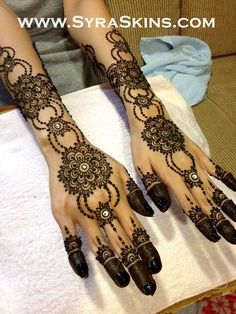 Unique henna designs