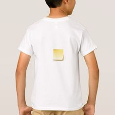 #Blank Sticky Note T-Shirt - #cool #kids #shirts #child #children #toddler #toddlers #kidsfashion