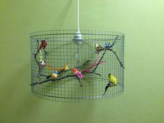 ... Gabbie Per Uccelli, Lampadari e Luci Per Gabbietta Per Uccelli
