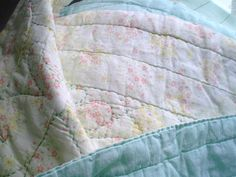Vintage Hand Quilted Coverlet Bedspread by jclairep on Etsy, $50.00