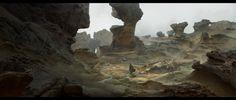 Canyon , Daniel Matthews on ArtStation at https://www.artstation.com/artwork/3L9Pg