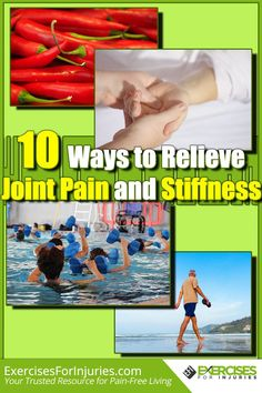 Joint Pain Remedies Do you have joint pain and stiffness? Give these 10 awesome tips a try. Rheumatoid Arthritis Treatment, Knee Arthritis, Knee Pain Relief, Back Pain, Hip Pain, Awesome, Remedies, Natural