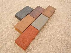 Popular paving stones are used for driveways, paths and patios. Soil retention is necessary in Colorado's sandy soil, sloping paths and around foundations and in areas Paving Stone Patio, Stone Driveway, Paving Stones, Sandy Soil, Purple Gray, Brown And Grey, Holland, Colorado, Charcoal