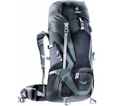 Deuter ACT Lite 50 +10 Black/Granite