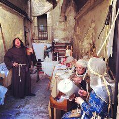 """Federicus medieval festival in altamura-puglia con la partecipazione dell'ass.audax e il gruppo delle""""manine laboriose"""" in foto"""
