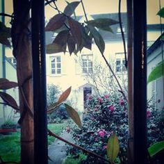 @janettesvn Instagram photos | Through a door a #courtyard with a little house and a #SecretGarden #secretParis #hiddentreasures #hiddenParis #Paris #Paris20 #instaparis #instafrance #Parisjetaime #IloveParis #igersparis
