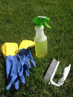 How to Clean Headstones - Happy Memorial Day!