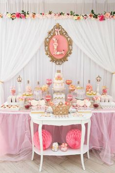 Pink & Gold Princess Party via Kara's Party Ideas | KarasPartyIdeas.com (35)