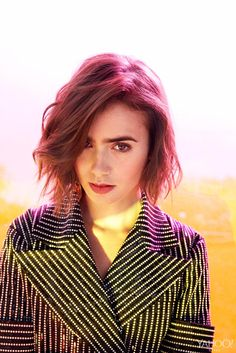 Lily Collins | 2015 | Yahoo Style Photoshoot