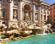 Trevi Fountain by J.H.