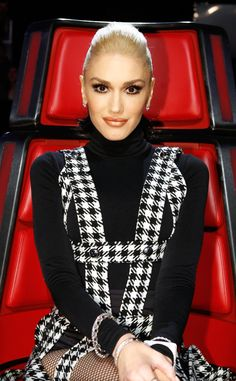 Houndstooth Perfection from Gwen Stefani's The Voice Looks | E! Online