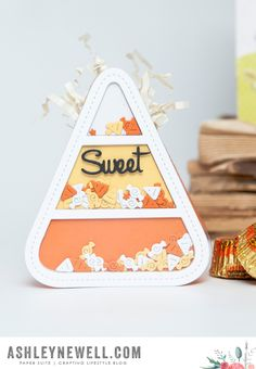 Sweet Treat Box by Ashley Cannon Newell for Papertrey Ink (August 2015)