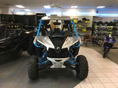 New 2016 Can-Am Maverick™ X® ds Turbo ATVs For Sale in South Carolina. Race-Proven Turbo engine, fully adjustable Fox Shocks and premium cockpit; everything you need to stay ahead of the dust.
