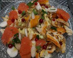 Salade Complète (Houmous de Fèves, Quinoa, Haddock)