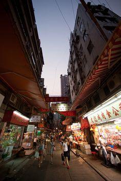 Gage Street, Hong Kong by pamhule, via Flickr