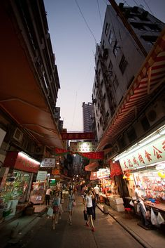 Gage Street, Hong Kong by pamhule, via Flickr