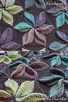 Ravelry: Hexagon Kaleidoscope Pattern by Svetlana Gordon - Knitting Crochet Knitting Paterns, Loom Knitting, Knitting Stitches, Free Knitting, Knitting Projects, Crochet Projects, Freeform Crochet, Crochet Lace, Stitch Patterns