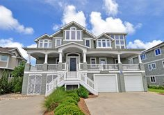 Twiddy Outer Banks Vacation Home - Beacon Dunes - Corolla - Oceanfront - 6 Bedrooms