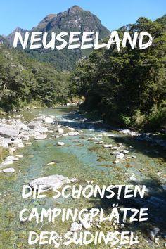 Neuseeland ist einfach mein Traumreiseland Nummer Eins. Und ein Roadtrip ist die perfekte Reiseart. Meine liebsten Campingplätze, meist mitten in der Natur, gibt es hier.