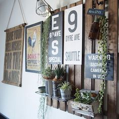 Rustic Furniture, Industrial Style, Wood Art, Ladder Decor, Diy And Crafts, Display, Antiques, Interior, Green