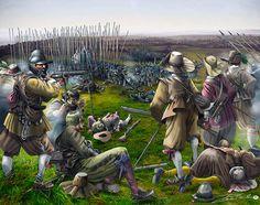 """""""La batalla de la Montaña Blanca, 1620"""", Pablo Outeiral"""