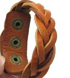 i love my leather bracelets :)