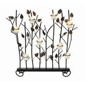 Wrought Iron Summer Screen with Votive Rings fireplace Achla Designs Wrought Iron Summer Screen With Votive Rings Ssb 02 Wrought Iron Fireplace Screen, Metal Fireplace, Fireplace Screens, Decorative Fireplace, Fireplace Ideas, Fireplace Candelabra, Room Divider Screen, Mountain Decor, Hearth And Home
