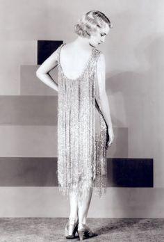Flapper dress ♥ 1929