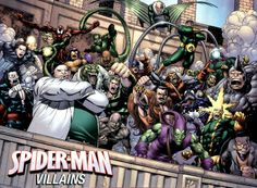 SpiderMan : Villans