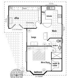 floor plan for a flat