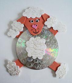 Kids Crafts, Old Cd Crafts, Map Crafts, Cute Crafts, Creative Crafts, Diy And Crafts, Waste Bottle Craft, Bottle Crafts, Craft From Waste Material