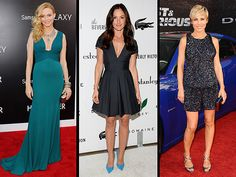 Red Carpet Trend Report: The Scoop on Daring Necklines, Bright-Colored Footwear and Sequin Overkill | People.com