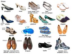 shoes, #Vocabulary #English