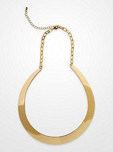 Steve Harvey Gold Cuff Necklace