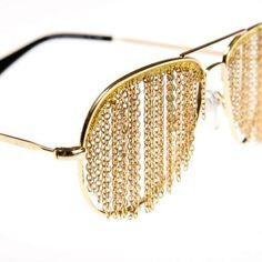 Bless Duo Fringe Glasses Go On Sale #summer #sunglasses trendhunter.com