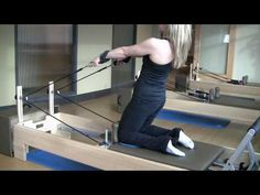 Pilates Reformer- My workout
