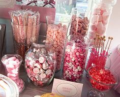 Learn how to set up a #Candy #Baby #Shower #Buffet? Tips and ideas!!