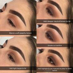 smokey brown Eye Makeup #EyeMakeupGreen