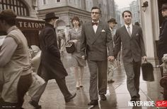 Never Hide, Ray Ban.  1942, Lovers in New York.    The World's Best Print Ads, 2011-12 | All the Gold Press Winners from Cannes | Adweek
