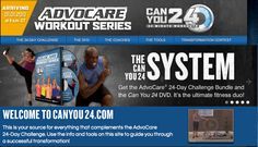 24 minute workouts -- I CAN do that! And you can order it from me at www.advocareatlast.com
