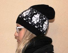 Bilderesultat for moomin knitting pattern Beanie Hats, Knitted Hats, Knitting Patterns, Baseball Hats, Winter Hats, Wool, Sewing, Trending Outfits, Crochet