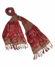 Official NCAA Florida State Seminoles Thin Crinkle Shawl Scarf